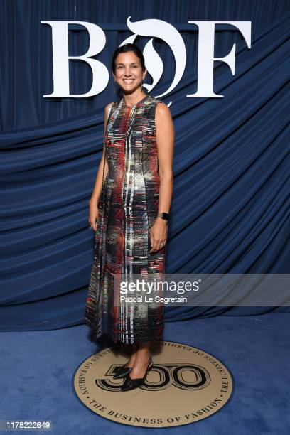 Radhika Jones attends the #BoF500 gala during Paris Fashion Week Spring/Summer 2020 at Hotel de Ville on September 30 2019 in Paris France