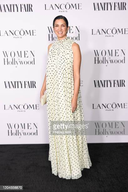 Radhika Jones attends the Vanity Fair and Lancôme Women in Hollywood celebration at Soho House on February 06 2020 in West Hollywood California