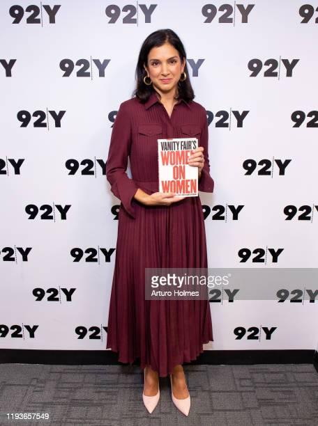 Radhika Jones attends Vanity Fair's Women On Women at 92nd Street Y on December 12 2019 in New York City