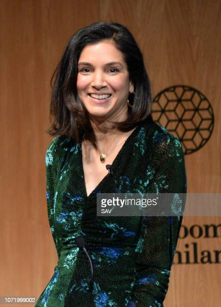 Radhika Jones Editor of Vanity Fair during The Climate Change Conference held at Bloomberg London on December 12 2018 in London England