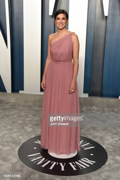 Radhika Jones EditorinChief of Vanity Fair attends the 2020 Vanity Fair Oscar Party hosted by Radhika Jones at Wallis Annenberg Center for the...