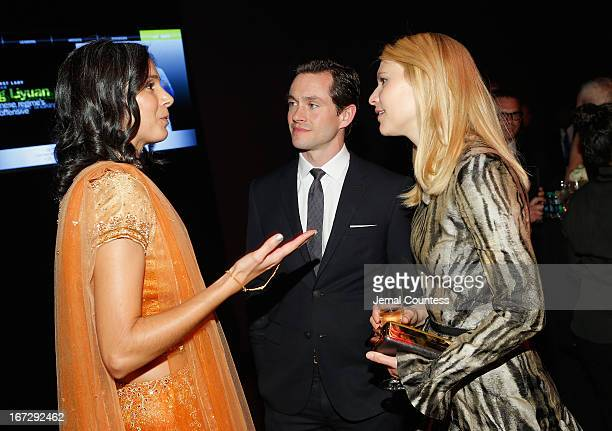 Radhika Jones Hugh Dancy and Claire Danes attend the TIME 100 Gala TIME'S 100 Most Influential People In The World reception at Jazz at Lincoln...