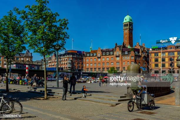 radhuspladsen - town hall square stock pictures, royalty-free photos & images