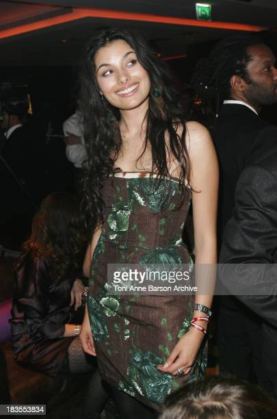 Radia Amar attends the Black Legend opening party on October 29 2009 in MonteCarlo Monaco