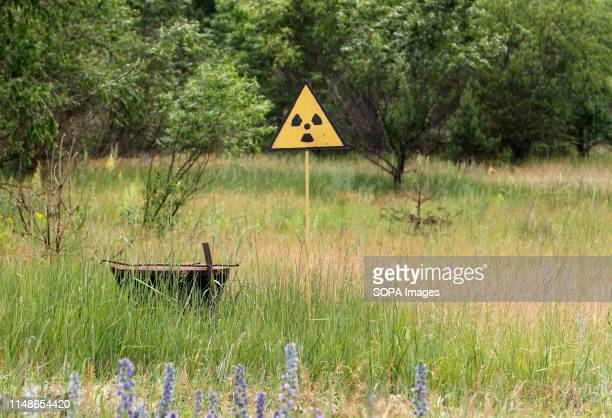 A radiation sign seen during the excursion tour at the Chernobyl exclusion zone in Pripyat The HBO television miniseries Chernobyl premiered in US...