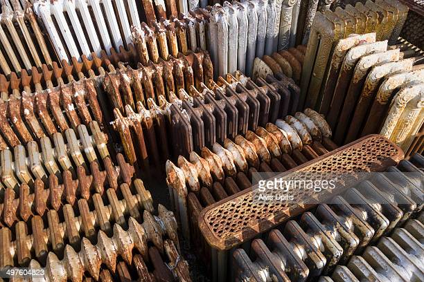Radiator salvage yard in Massachusetts