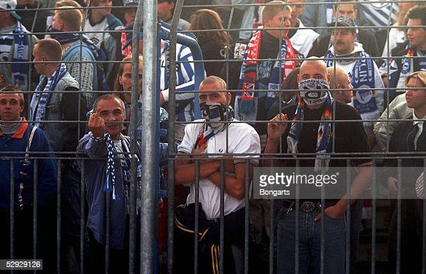 0 200997 Radikale Fussball Fans von Hertha BSC Berlin