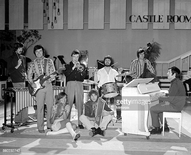 Radio 1 DJ'S play on Roy Castle's show Tony Blackburn on guitar Ed Stewart bass Dave Lee Travis drums Pete Drummond vibes Johnny Walker on the...