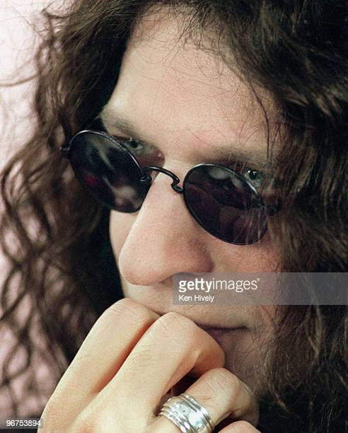 Radio and media personality Howard Stern is photographed in Los Angeles CA on February 11 1997 for the Los Angeles Times CREDIT MUST READ Ken...