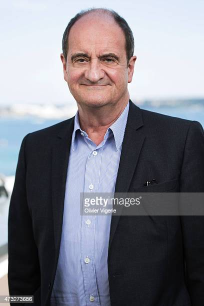 Radio and television journalist and President of the Cannes film festival is photographed on May 10, 2015 in Cannes, France.