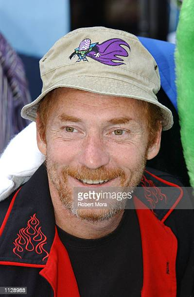 Radio and television personality Danny Bonaduce attends the world premiere of 'The Powerpuff Girls Movie' on June 22 2002 in Century City California...