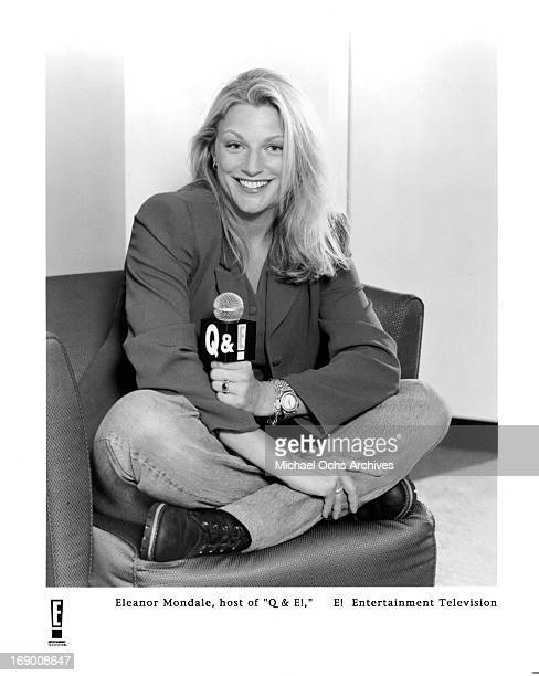 Radio and Television personality Eleanor Mondale poses for a portrait in circa 1994