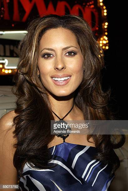 Radio and television personality Kerri Kasem arrives for the Golden Dads Awards ceremony at the Peterson Automotive Museum on June 15 2005 in Los...