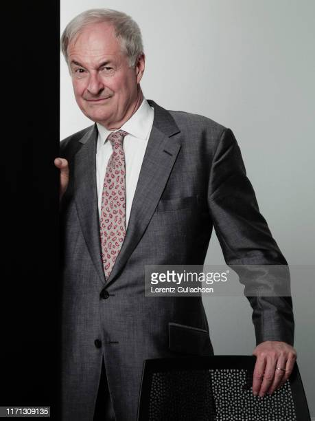 Radio broadcaster Paul Gambaccini is photographed at the Stratford Literary Festival on February 5, 2015 in Stratford-upon-Avon, England.