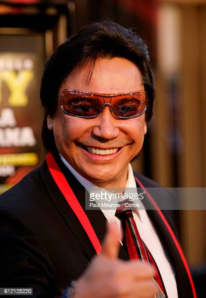 Radio celebrity Renan Almendarez Coello 'El Cucuy' arrives at the premiere of 'Under The Same Moon' at the Grauman's Egyptian Theater in Hollywood