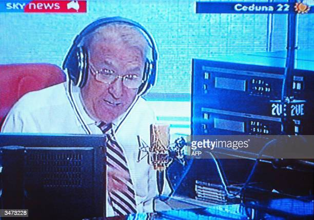 Radio chat show host John Laws alleges on air that rival broadcaster Alan Jones had 'instructed' Australian Prime Minister John Howard to reappoint...