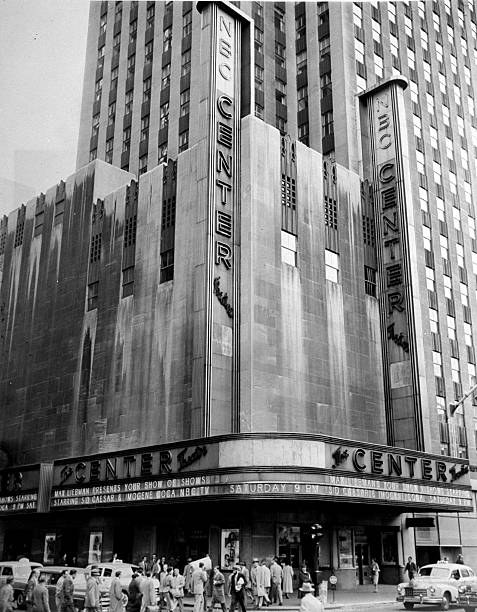 Radio City Center Theatre at Avenue of the Americas and 48th