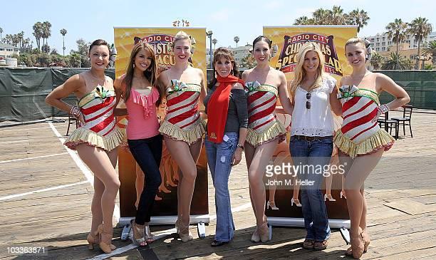 Radio City Rockette Traci Reszetylo Actress Chrishell Stause Radio City Rockette Laura Danelski Actress Kate linder Radio City Rockette Alyssa...
