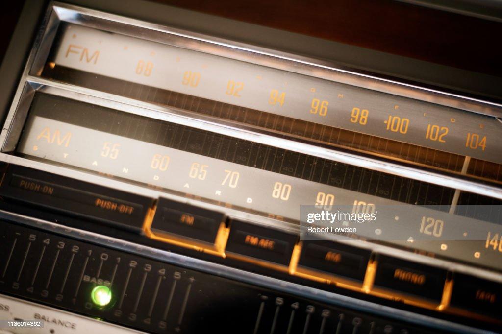 Radio Dial : Stock Photo