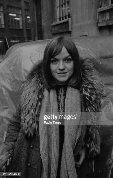 Radio disc jockey Annie Nightingale, January 4th 1971.