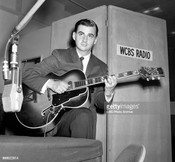Radio disc jockey Bill Codare He provides mood music keyed to young adults in the afternoon Image dated May 11 1960