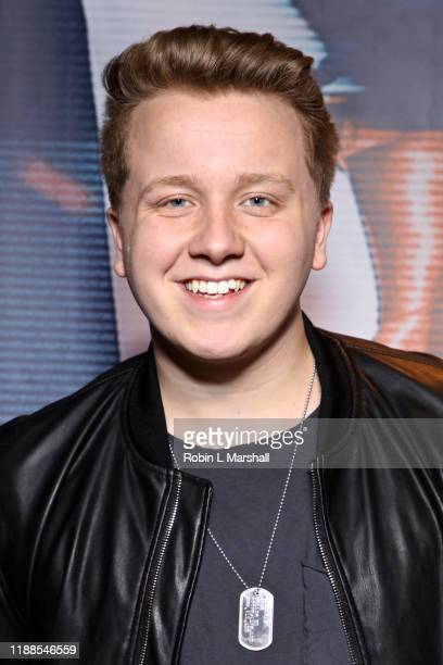 Radio Disney's Cameron McLeod attends the Premiere of Agent Emerson at iPic Theater on November 18 2019 in Los Angeles California