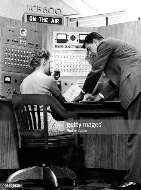 Radio dispatcher Theresa Smyth of Quincy sits with an agent inside the radio room as they dispatch instructions to FBI cars at the Boston...