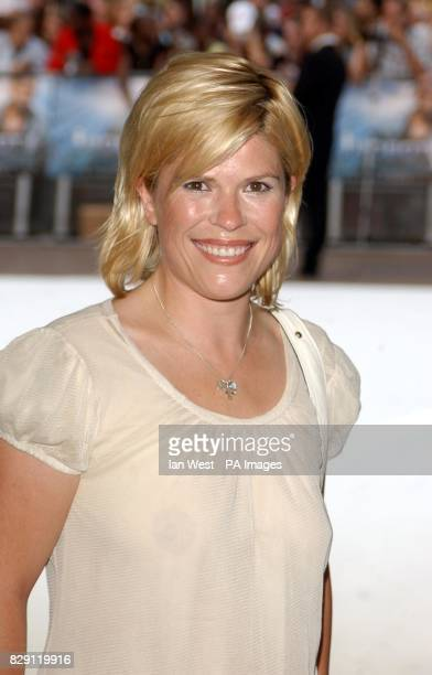 Radio DJ Emma B arrives for the UK premiere of I Robot at the Odeon Leicester Square in central London PA Photo Ian West