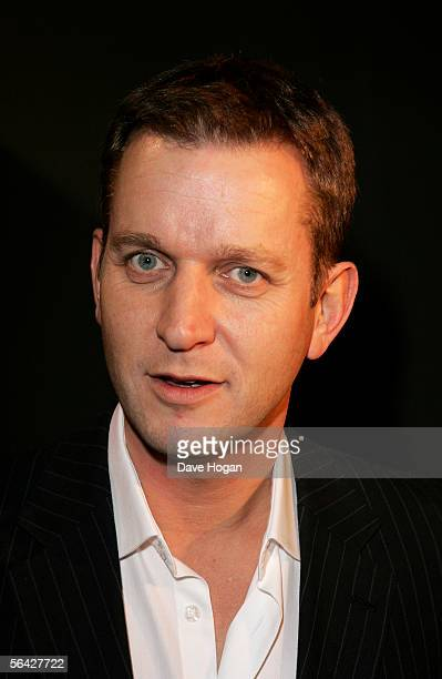 Radio DJ Jeremy Kyle attends the Rock On Xmas Party 2005 at the Trocadero Centre December 13 2005 in London England The event benefits Capital FM's...