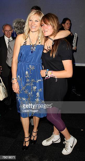 Radio DJ Jo Whiley and her daughter India attend the after party following the European premiere of Harry Potter And The Order Of The Phoenix at the...