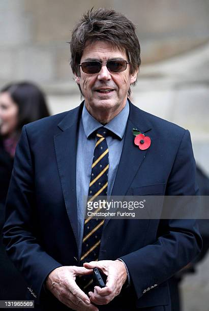 Radio DJ Mike Read arrives at Leeds Cathedral for the funeral service of Sir Jimmy Savile on November 9 2011 in Leeds England Members of the public...