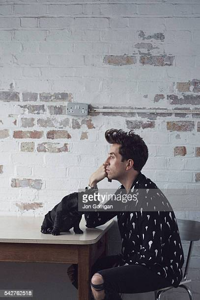 Radio Dj Nick Grimshaw is photographed for the Guardian on August 27, 2015 in London, England.