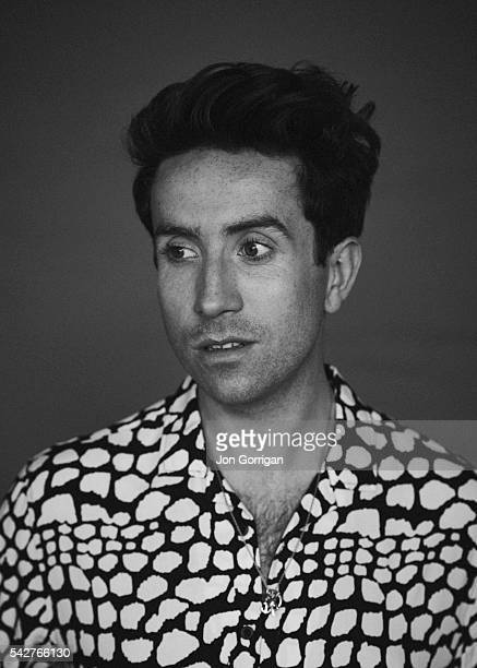 Radio Dj Nick Grimshaw is photographed for the Guardian on August 27 2015 in London England