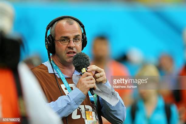 BBC Radio Five Live Sport Commentator and presenter Ian Dennis