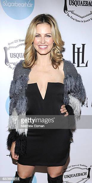 Radio Host/ 955PLJ Jayde Donovan attends Dressed To Kilt Ball Fashion Show presented by Usquaebach Scotch Whisky The High Line Hotel SugarBearHair at...