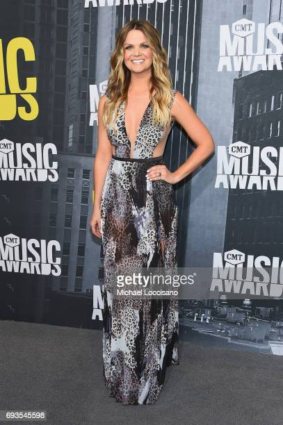 Radio host Amy Brown attends the 2017 CMT Music Awards at the Music City Center on June 7 2017 in Nashville Tennessee