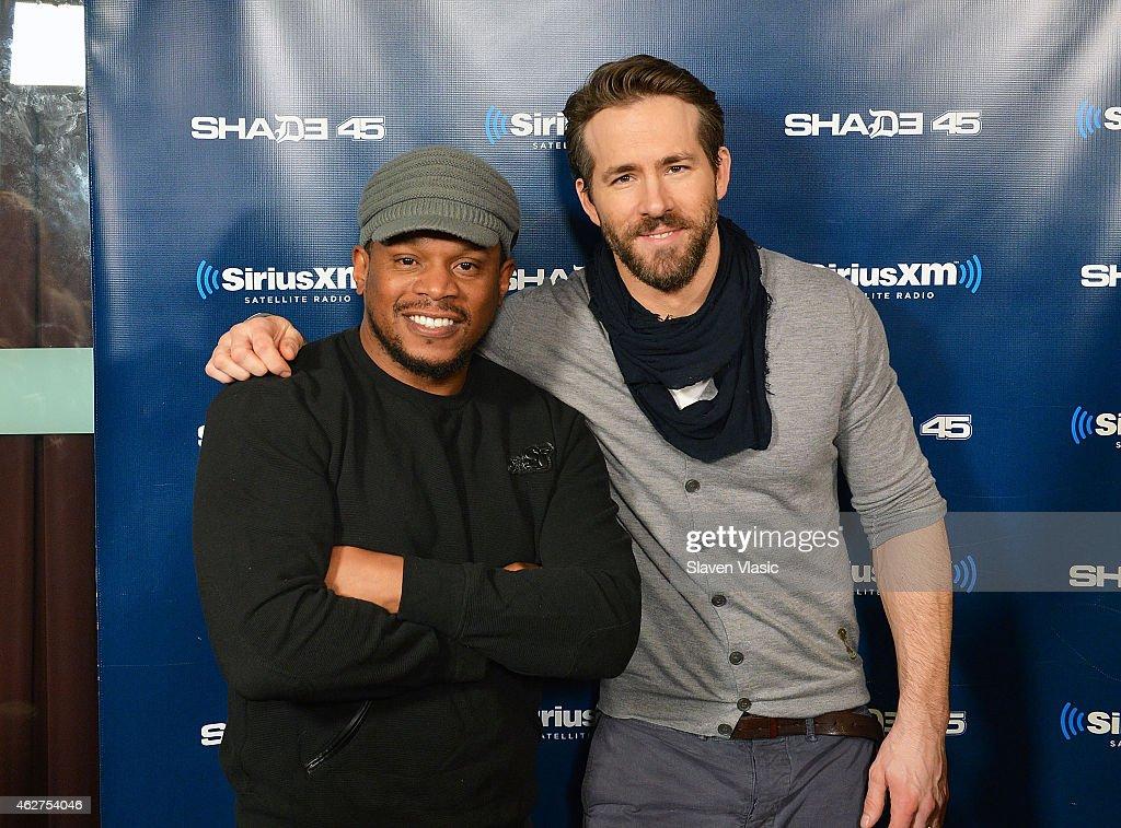 Celebrities Visit SiriusXM Studios - February 4, 2015