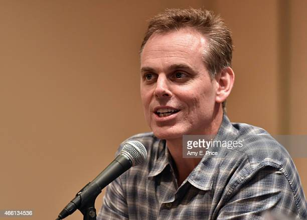Radio host Colin Cowherd speaks onstage at 'The Evolution of Audio in the 21st Century' during the 2015 SXSW Music, Film + Interactive Festival at...