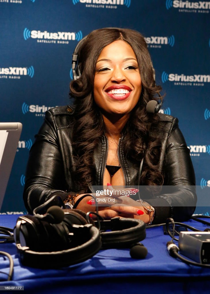 Radio Host Devi Dev attends SiriusXM's Live Broadcast from Radio Row during Bowl XLVII week on February 1, 2013 in New Orleans, Louisiana.