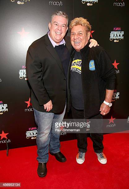 Radio Host Elvis Duran and Uncle Johnny attend Z100's Jingle Ball 2014 Official Kick Off Event>> at Macy's Herald Square on October 9 2014 in New...