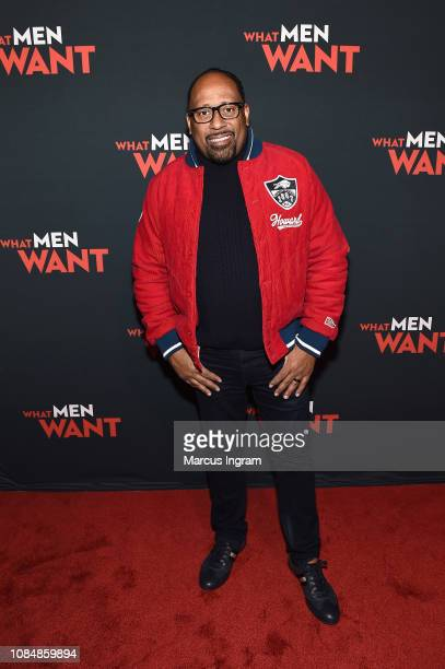 Radio host Frank Ski attends a special screening of 'What Men Want' at Regal Atlantic Station on January 18 2019 in Atlanta Georgia