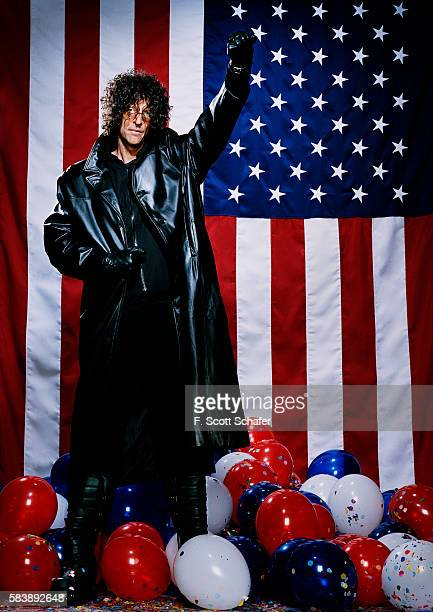 Radio host Howard Stern is photographed for Newsweek Magazine on November 29 2015 in New York City