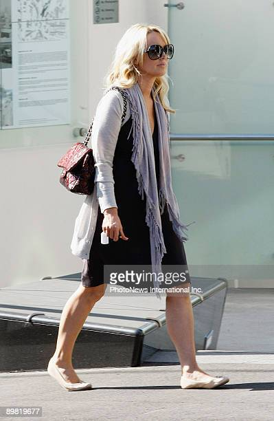 APPLY Radio host Jackie O is seen at Walsh Bay on August 16 2009 in Sydney Australia