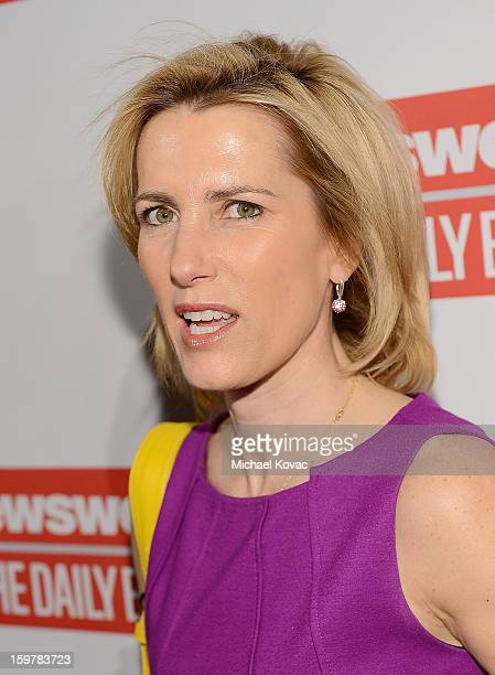 Radio host Laura Ingraham attends The Daily Beast Bi-Partisan Inauguration Brunch at Cafe Milano on January 20, 2013 in Washington, DC.