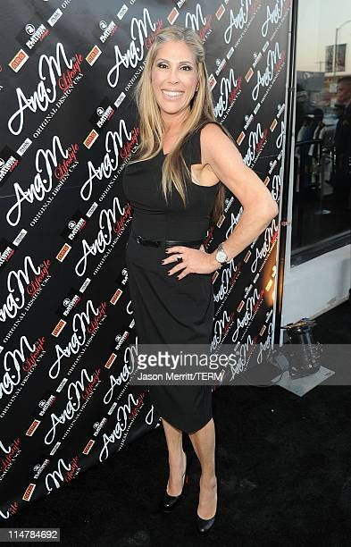 Radio host Lisa Stanley poses during the Ana M grand opening launch party hosted by Christina Milian on May 6 2010 in Los Angeles California