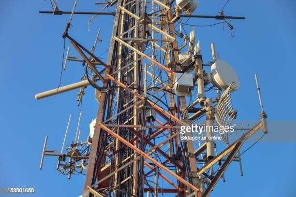 Radio mast Naples Italy Antennenmast Neapel Italien