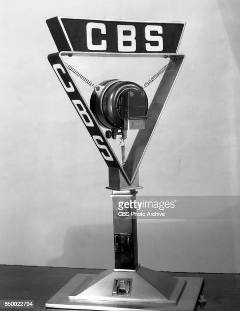 CBS radio microphone March 1 1934 New York NY