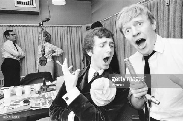 BBC Radio One Rehearsals ahead of official launch Studio Scenes Broadcasting House London 28th September 1967 Radio One went on to launch at 700 am...