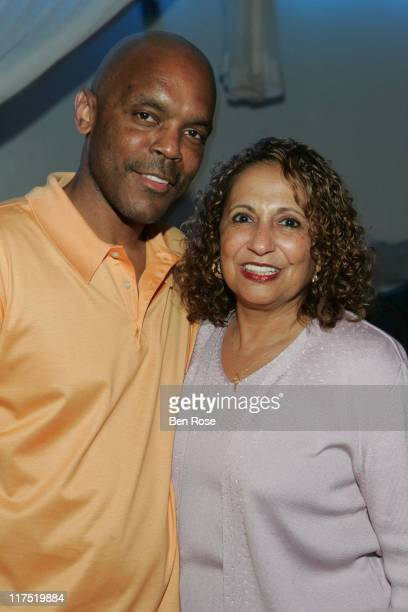 Radio One staff member and Cathy Hughes founder of Radio One