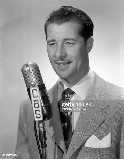 Radio performer Don Ameche poses on September 1 1947 in Hollywood CA